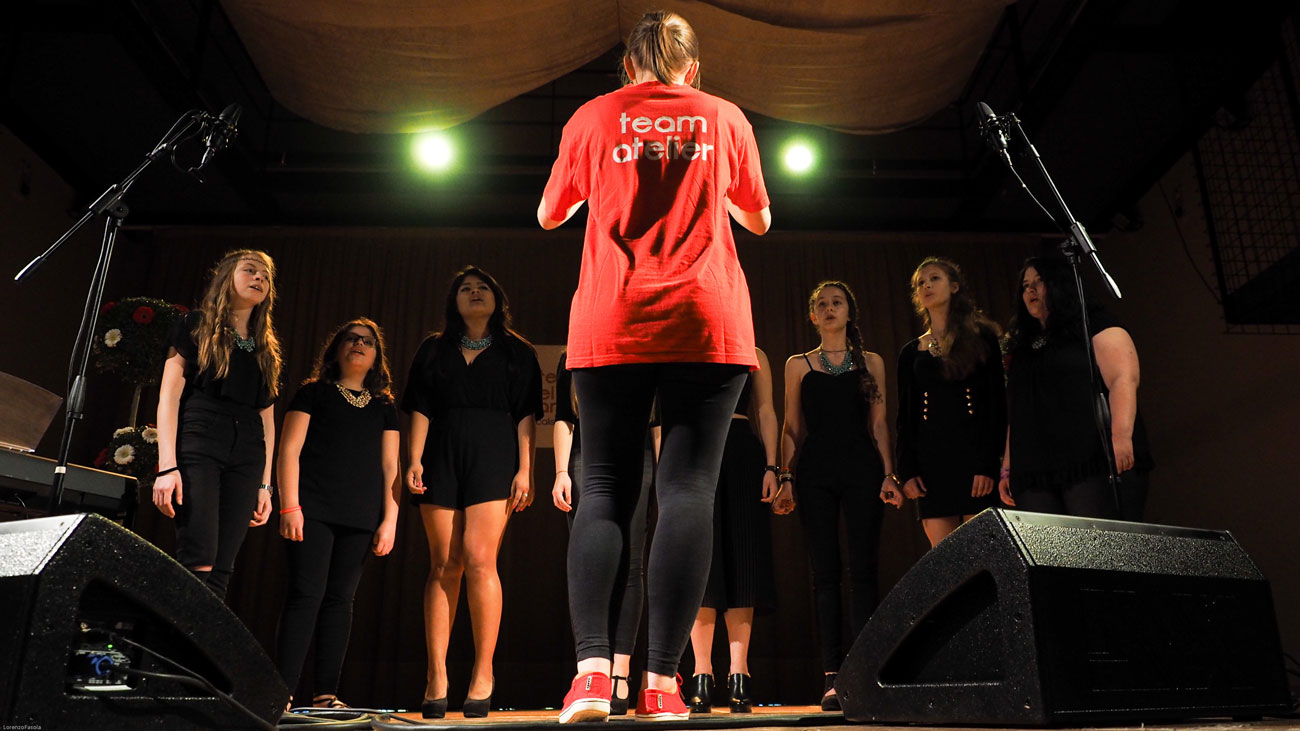 Coro di voci femminili May Flowers da 11 a 19 anni