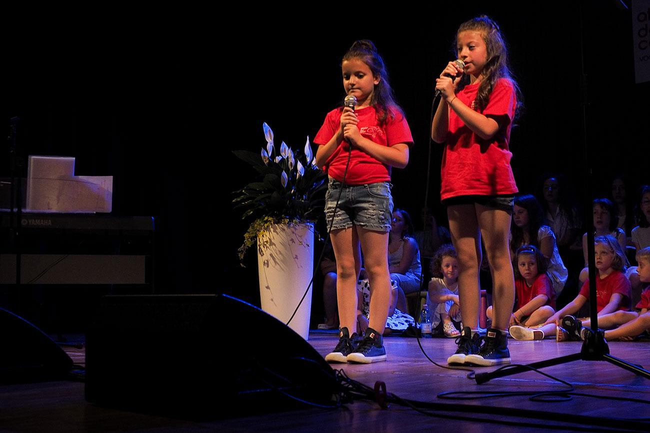 Lezioni di canto collettive per bambini da 6 a 10 anni
