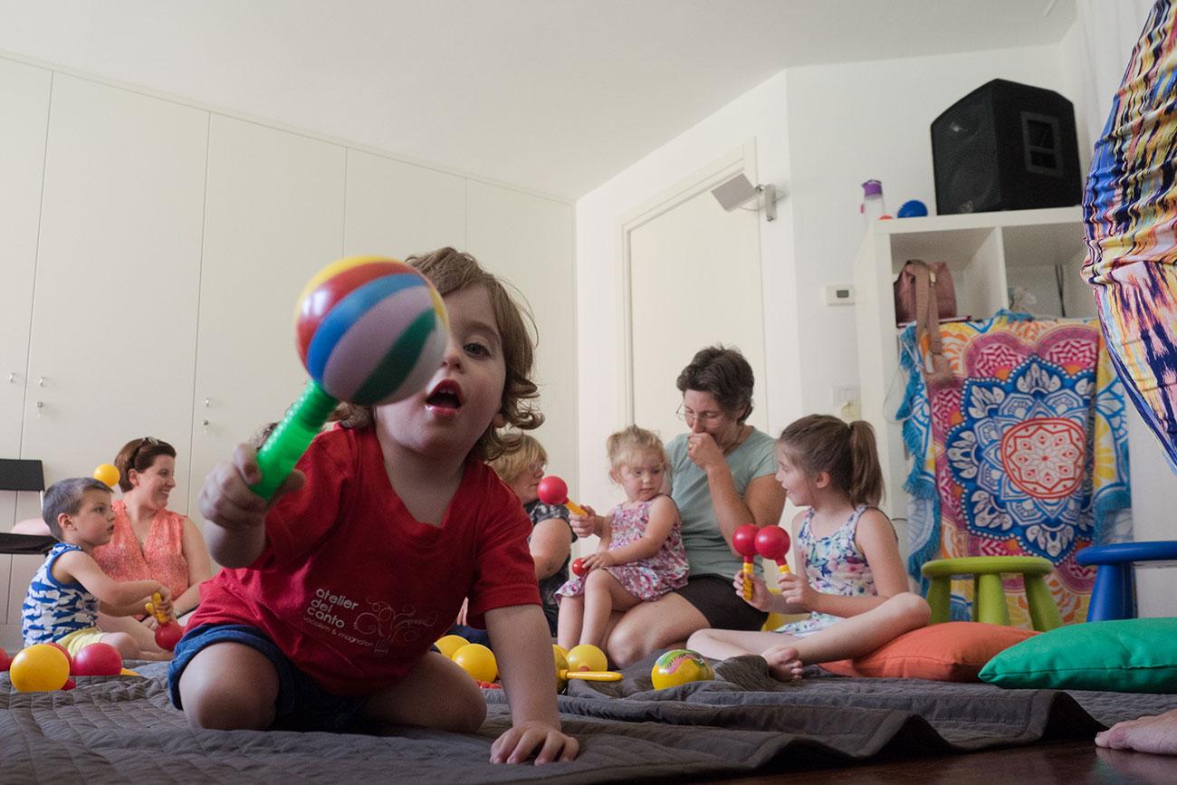 Suono, Ritmo, Movimento – Bambini da 0 a 36 mesi