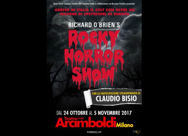 musical rocky horror show teatro arcimboldi bisio richard o'brien